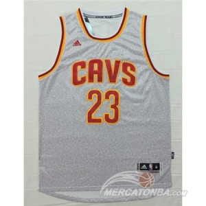 Canotte NBA Moda Cavaliers James Grigio