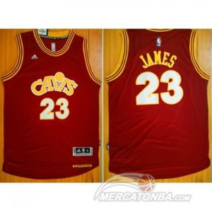 Canotte James,Cleveland Cavaliers Rosso
