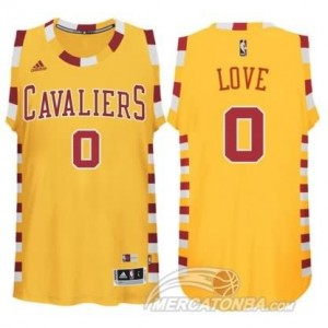 Canotte Love,Cleveland Cavaliers Giallo