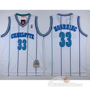 Canotte Charlotte Mourning,New Orleans Hornets Bianco