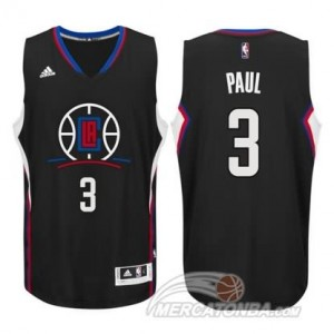 Canotte Paul,Los Angeles Clippers Nero