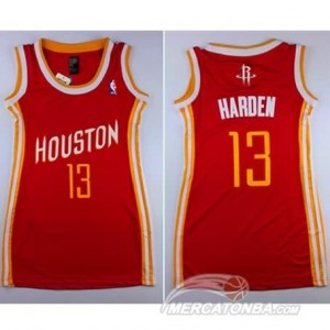 Canotte Donna Harden,Houston Rockets Rosso