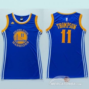 Canotte Donna Thompson,Dallas Mavericks Blu