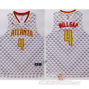 Canotte Millsap,Atlanta Hawks Bianco
