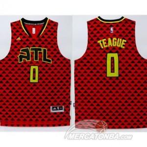 Canotte Teague,Atlanta Hawks Rosso