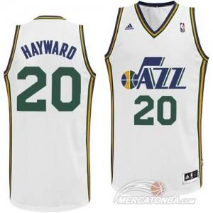Canotte Hayward,Utah Jazz Bianco