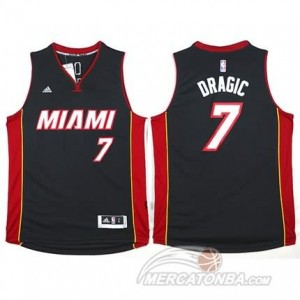 Canotte Dragic,Miami Heats Nero