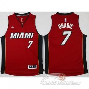 Canotte Dragic,Miami Heats Rosso