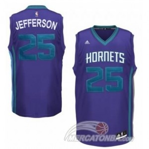 Canotte Hornets Jefferson,New Orleans Hornets Purpura