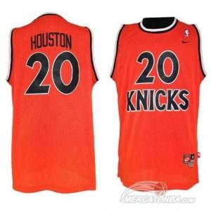 Canotte Rivoluzione 30 Houston,New York Knicks Arancione