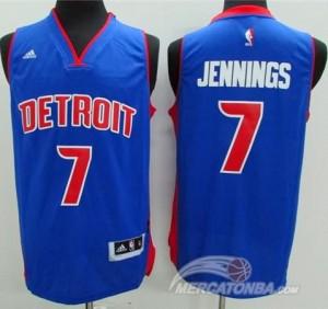 Canotte Jennings,Detroit Pistons Blu