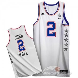 Canotte NBA John,All Star 2015 Bianco