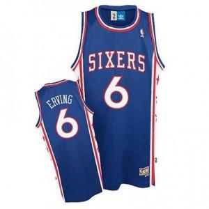 Canotte Julius Erving,Philadelphia 76ers Blu