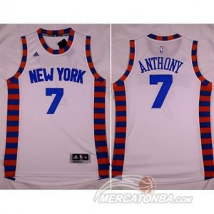 Canotte Anthony,New York Knicks Bianco