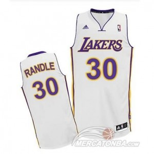 Canotte Randle,Los Angeles Lakers Bianco