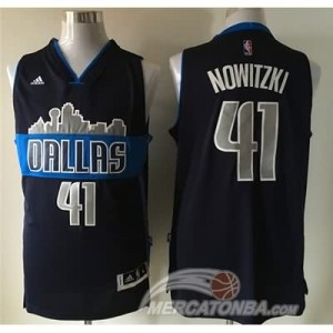 Canotte Nowitzik,Dallas Mavericks Blu