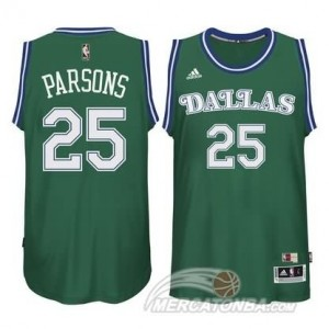 Canotte Parsons,Dallas Mavericks Verde
