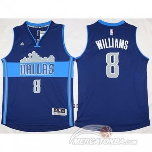 Canotte Williams,Dallas Mavericks Blu