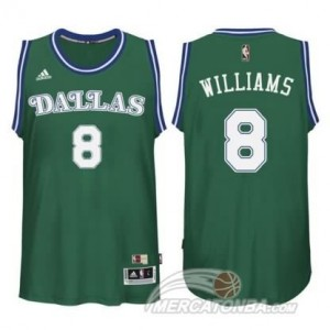 Canotte Williams,Dallas Mavericks Verde