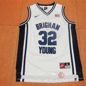 Canotte NCAA Brigham Young Fredette Bianco