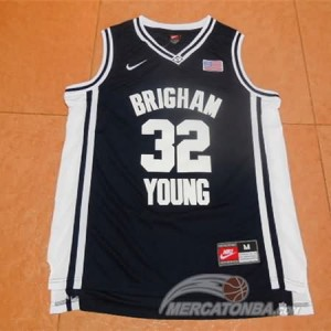 Canotte NCAA Brigham Young Fredette Nero
