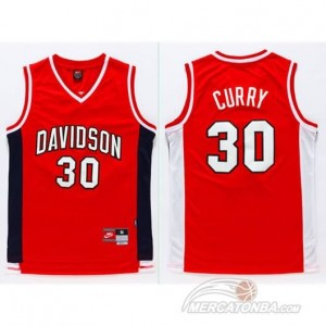 Canotte NCAA Davidson Curry Rosso