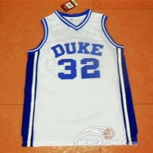 Canotte NCAA Duke Laettner Bianco