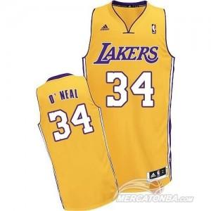 Canotte Rivoluzione 30 O neal,Los Angeles Lakers Giallo