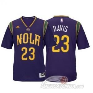Canotte Davis,New Orleans Pelicans Blu
