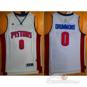 Canotte Drummond,Detroit Pistons Pistons Bianco