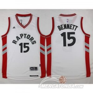 Canotte Bennett,Toronto Raptors Bianco