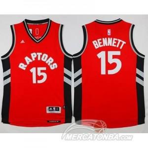 Canotte Bennett,Toronto Raptors Rosso
