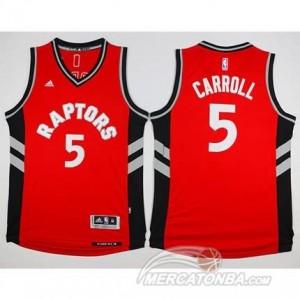Canotte Carroll,Toronto Raptors Rosso