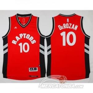 Canotte Derozan,Toronto Raptors Rosso