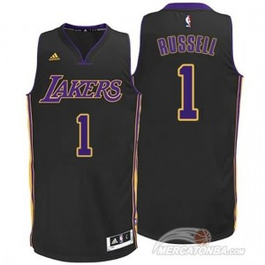 Canotte Russell,Los Angeles Lakers Nero