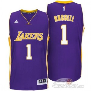 Canotte Russell,Los Angeles Lakers Porpora