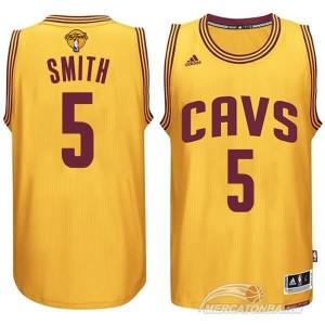 Canotte Rivoluzione 30 Smith,Cleveland Cavaliers Giallo