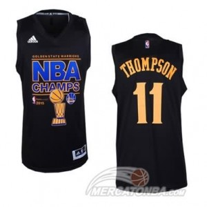 Canotte NBA Finals Champions Thompson Campeon 2014 Nero