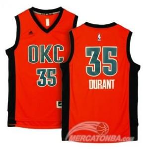 Canotte Durant,Oklahoma City Thunder Arancione