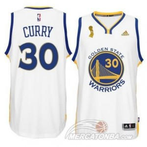Canotte Curry,Golden State Warriors Bianco