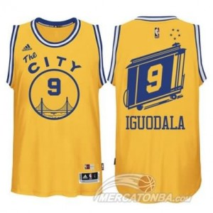 Canotte Iguodala,Golden State Warriors Grigio