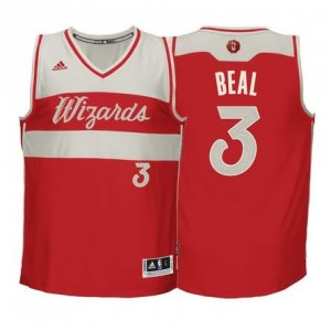 Canotte Beal Christmas,Washington Wizards Rosso