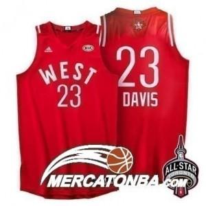 Canotte NBA Davis,All Star 2016 Rosso