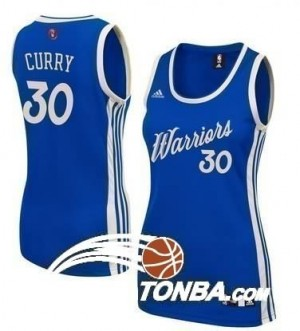 Canotte Donna Curry Christmas,Cleveland Warriors Blu