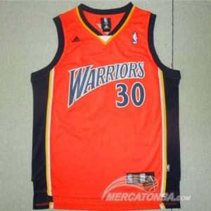Canotte retro Curry,Golden State Warriors Arancione