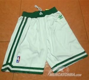 Pantaloni Boston Celtics Bianco