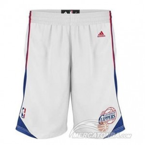 Pantaloni Los Angeles Clippers Bianco 2016