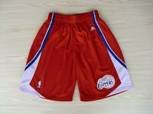 Pantaloni Los Angeles Clippers Rosso