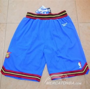 Pantaloni Philadelphia 76ers Blu