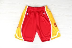 Pantaloni retro Houston Rockets Rosso